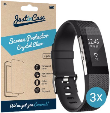 Just in Case Screen Protector Fitbit Charge 2 - 3 pack Main Image