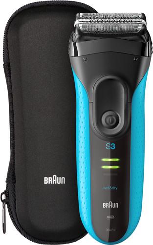 Braun Series 3 3045wd Black/Blue Main Image