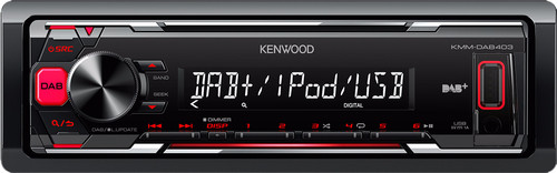 KENWOOD KMM-DAB403 Main Image