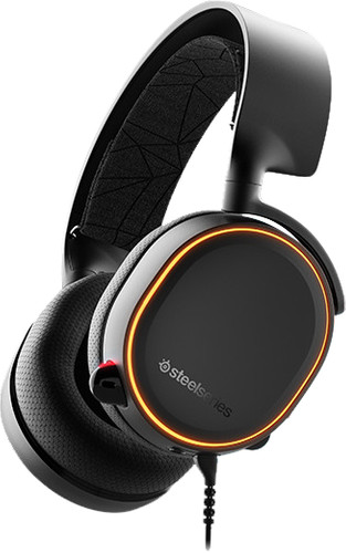 SteelSeries Arctis 5 2019 Zwart Main Image