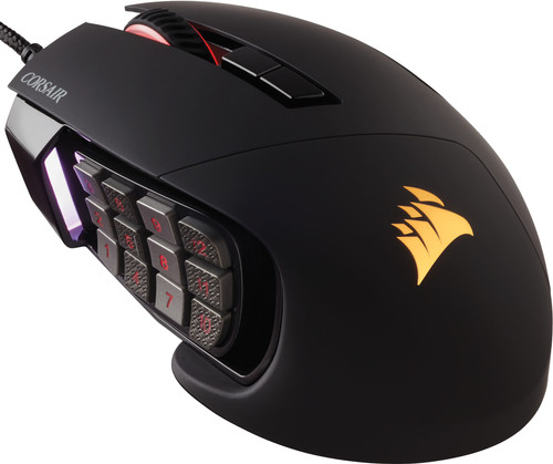 Corsair Scimitar Pro RGB Black Main Image