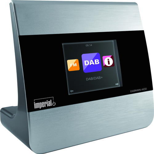 Imperial Dabman i400 Zilver Main Image