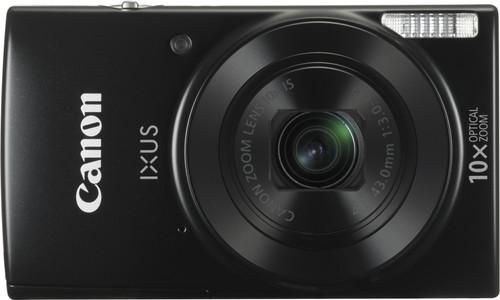 Canon IXUS 190 Essentials Kit Zwart Main Image