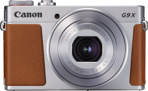 Canon PowerShot G9 X Mark II Silver Main Image