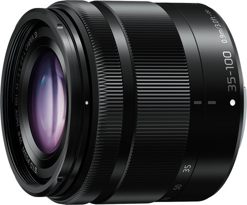 Panasonic Lumix G Vario 35-100mm f/4.0-5.6 Mega O.I.S. Black Main Image