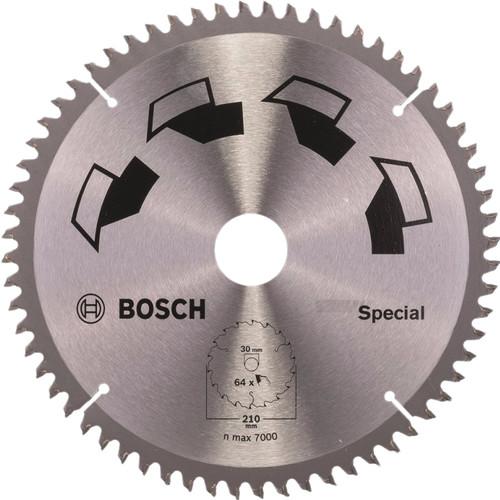 Bosch Zaagblad Special 210x30x2mm T64 Main Image