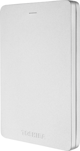 Toshiba Canvio ALU 2TB Silver Main Image