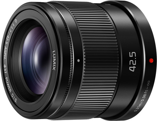 Panasonic Lumix G MFT 42.5mm f/1.7 ASPH O.I.S. Black Main Image