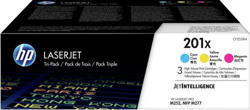 HP 201X 3-Kleuren Pack (CF253XM) Main Image
