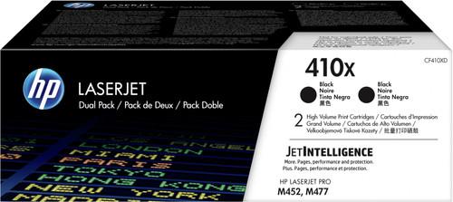 HP 410X Toner Zwart XL Duo Pack (CF410XD) Main Image