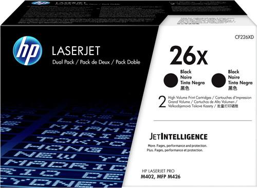 HP 26X Toner Cartridges Black Duo Pack (High Capacity) Main Image