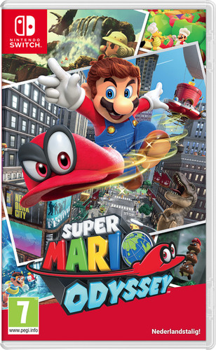 Super Mario Odyssey Switch Main Image