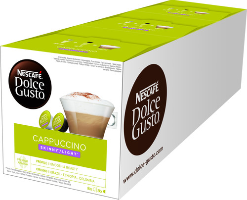 Dolce Gusto Cappuccino Light 3 pack Main Image
