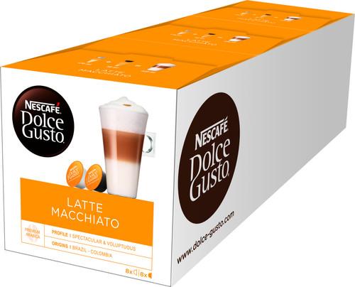 Dolce Gusto Latte Macchiato 3 pack Main Image