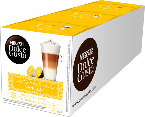 Dolce Gusto Vanille Macchiato 3 pack Main Image