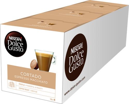 Dolce Gusto Cortado Espresso Macchiato 3 pack Main Image