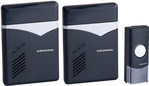 Grundig Wireless Doorbell 2 Receivers AC Power Main Image