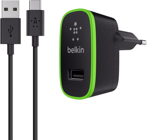 Belkin charger adapter USB-C 2,1A Black Main Image