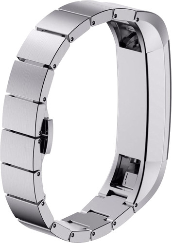 Just in Case Stainless-Steel Watch Strap Fitbit Alta Silver Main Image