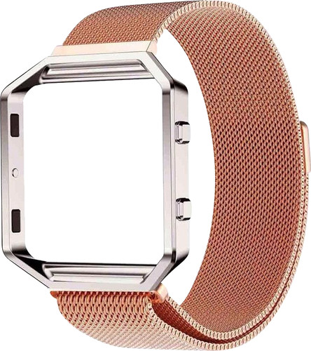 Just in Case Milanese Watch Strap Fitbit Blaze Rose Gold Main Image