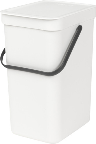 Brabantia Sort & Go 16 Liters White Main Image