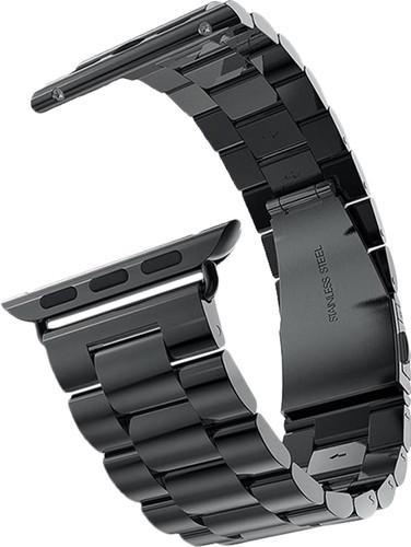 Just in Case Apple Watch 38/40mm Roestvrijstalen Bandje Zwart Main Image