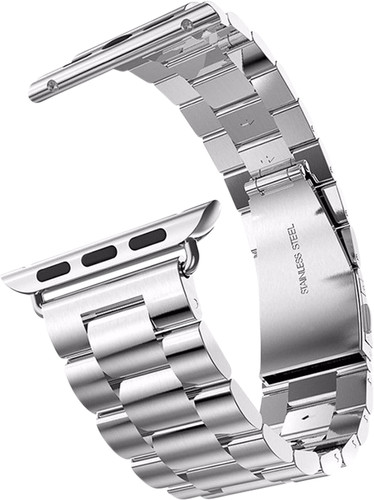 Just in Case Apple Watch 42/44mm Stainless Steel Strap Silver Main Image