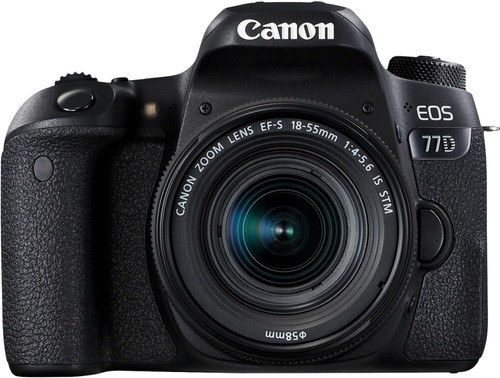 Canon EOS 77D + 18-55mm IS STM Main Image