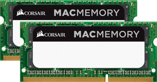 Corsair Apple Mac 16GB DDR3 SODIMM 1333 MHz (2x8GB) Main Image