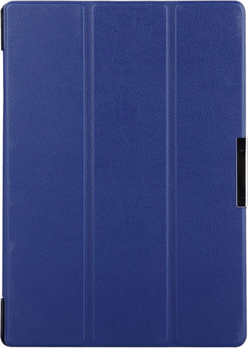 Just in Case Lenovo Tab 3 10 inch Smart Tri-Fold Case blauw Main Image