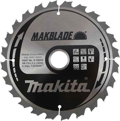 Makita Zaagblad 216x30x2,1 24T Main Image