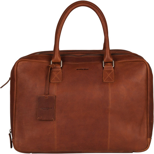 """Burkely Antique Avery Worker 15"""" Cognac Main Image"""