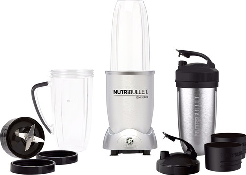 NutriBullet 1200 series Silver 12-piece Main Image