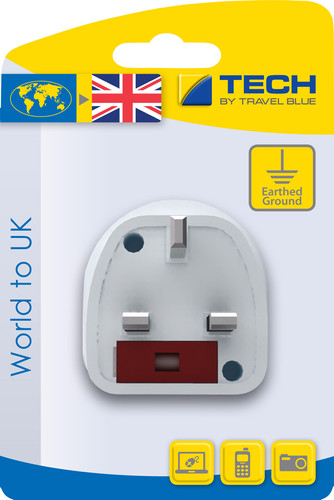 Travel Blue World Adapter - UK Main Image