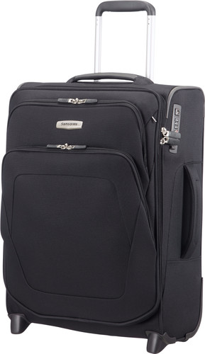 Samsonite Spark SNG Expandable Upright 55cm Black Main Image