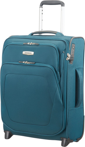 Samsonite Spark SNG Expandable Upright 55cm Petrol Blue Main Image
