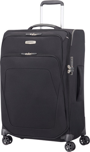 Samsonite Spark SNG Expandable Spinner 67cm Black Main Image