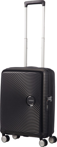 American Tourister Soundbox Expandable Spinner 55cm Bass Black Main Image