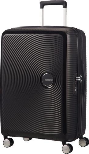 American Tourister Soundbox Expandable Spinner 67cm TSA Bass Black Main Image