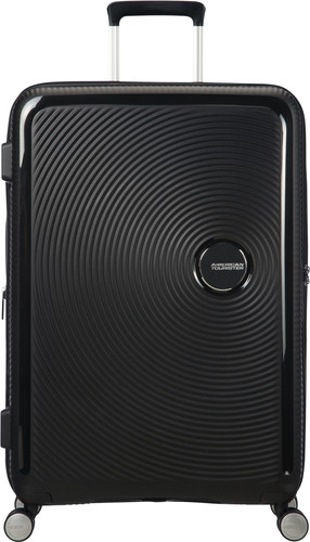 American Tourister Soundbox Expandable Spinner 77cm Bass Black Main Image