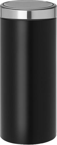 Brabantia Touch Bin 30 Liters Black Stainless Steel Main Image