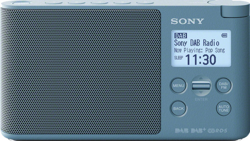 Sony XDR-S41DL Blue Main Image