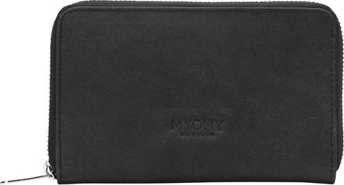 MYOMY Wallet Medium Hunter Off Black Main Image