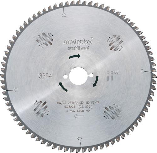 Metabo Saw blade Multi Cut 160x20x2.2mm 42T Main Image