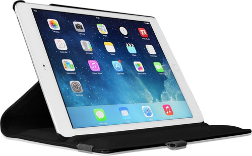Just in Case Apple iPad 9,7 inch (2017) 360 Rotating Hoes Zwart Main Image