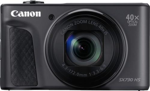 Canon Powershot SX730HS Black Main Image