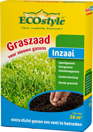 ECOstyle Grass seed Sow 1kg Main Image