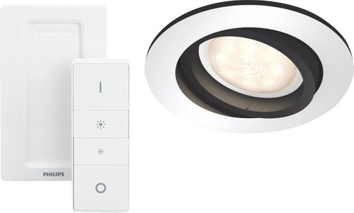 Philips Hue Milliskin Aluminum Round with Dim Switch included Main Image