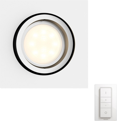 Philips Hue Milliskin Square White Including Dimmer Switch Main Image