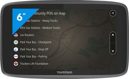 TomTom Go Professional 6200 Europe Main Image